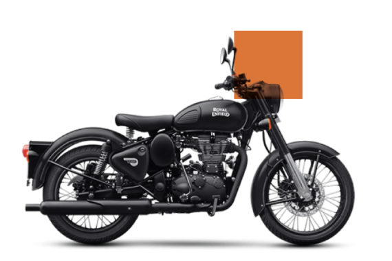 Royal-Enfield-Bullet-Classic-500---Mat-Stealth