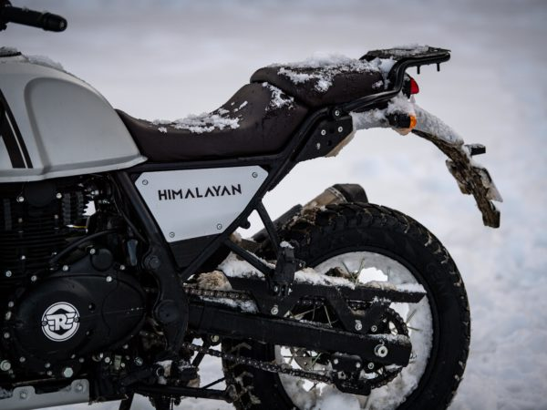 Arrière Himalayan Blanche