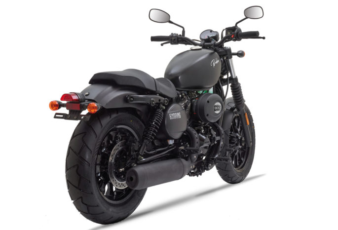 Moto custom Bobber 300 Hyosung