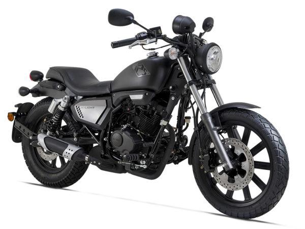 Keeway k light custom 125 noir