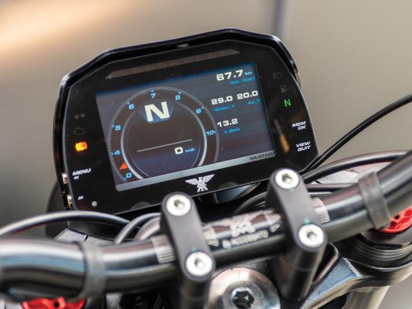 Compteur digital LCD Moto Morini