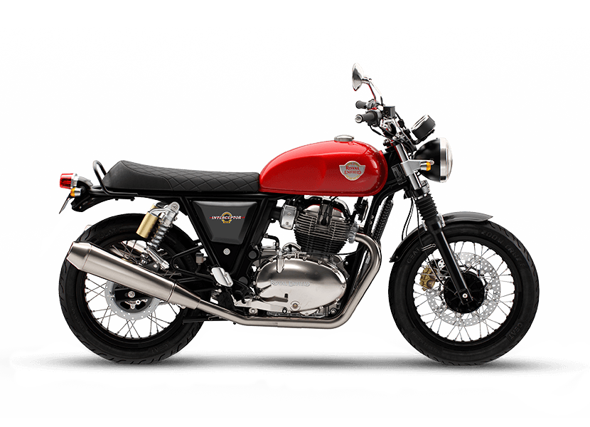 Royal Enfield Rouge Canyon Red Interceptor 650