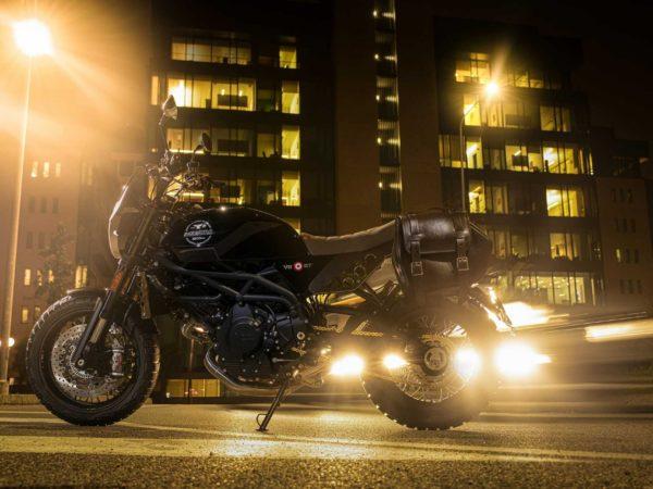 Super Scrambler Moto Morini Profile