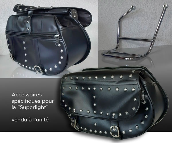 accessoires-Superlight keeway 125 Dark