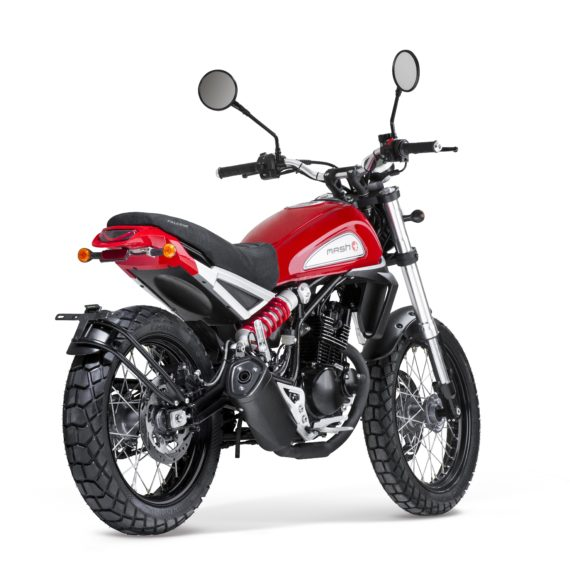 Arriere Falcone 125 Rouge