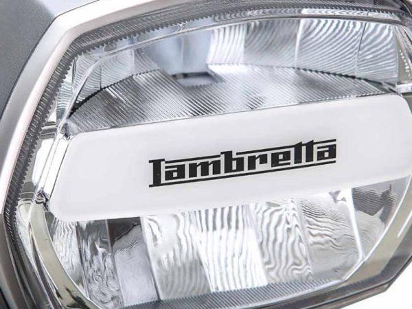 Détail Scooter Lambretta