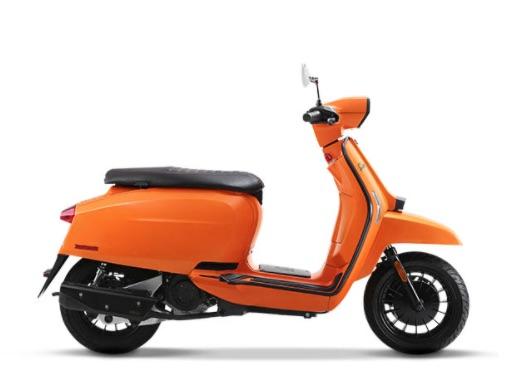 Lambretta V50 Special Orange