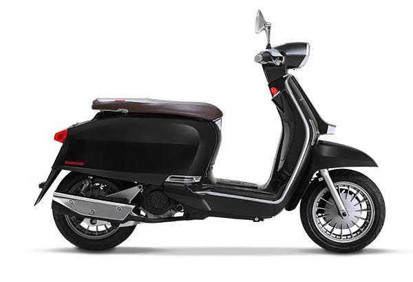 Scooter V125 Special Lambretta Noir