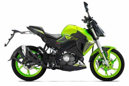 Green RKF 125 Keeway