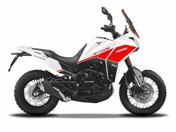 Moto Morini X-Cape Blanc